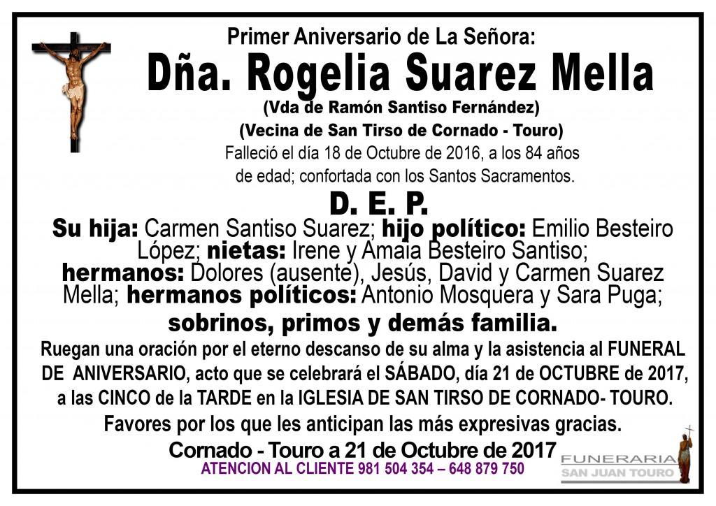 ROGELIA SUAREZ MELLA