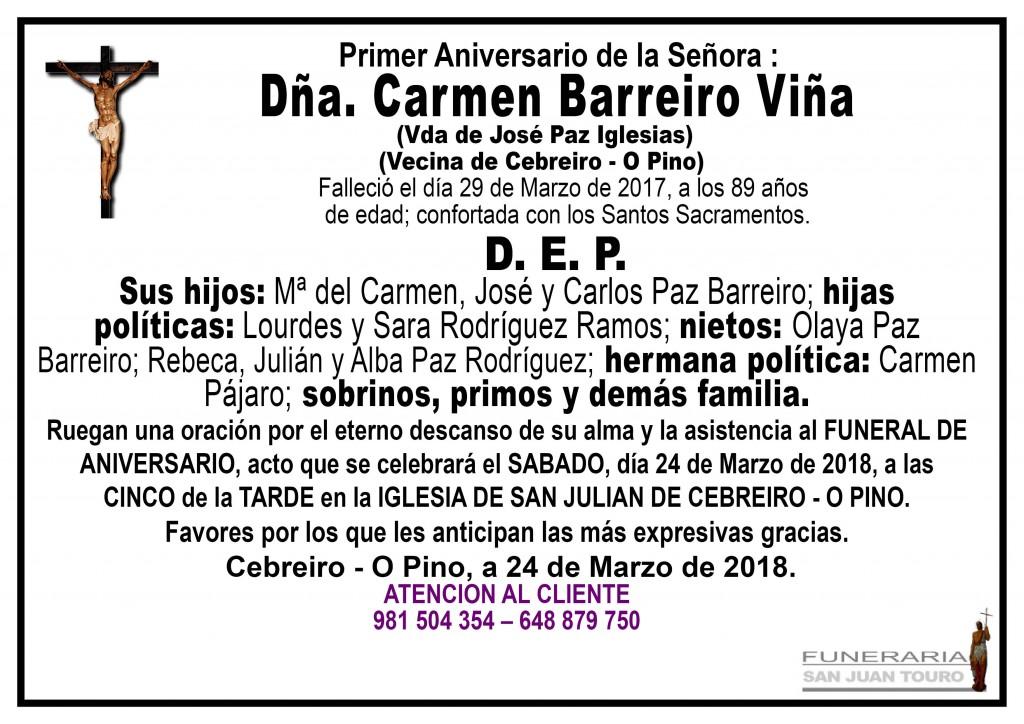 CARMEN BARREIRO VIÑA